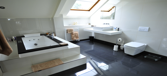 Sterile Bathrooms Vs Luxury Bathrooms